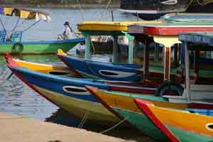 Colorful Boats in Hue