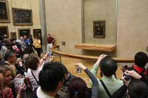 Photographing the Mona Lisa