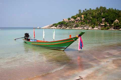 The beach at Koh Tao