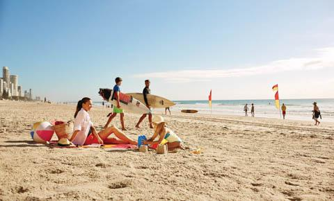 Surfers Paradise, Gold Coast, Queensland (Tourism Australia)