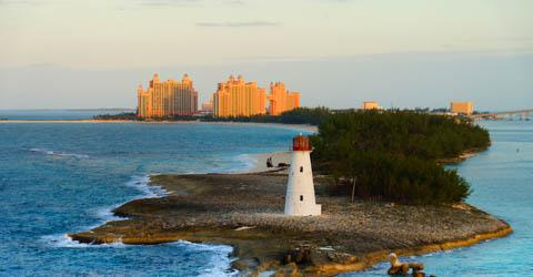 Atlantis resort in Nassau, Bahamas