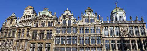 Guildhalls in Grand Place, Brussels