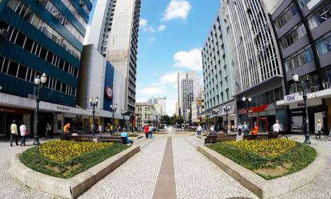 Downtown Curitiba, Brazil