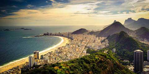 The beaches of Rio