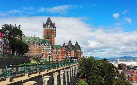 Le Chateau Frontenac, Quebec City, Canada