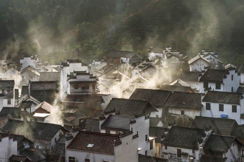 The villages near Wuyuan, China