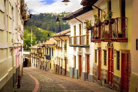 La Ronda, Quito, Ecuador