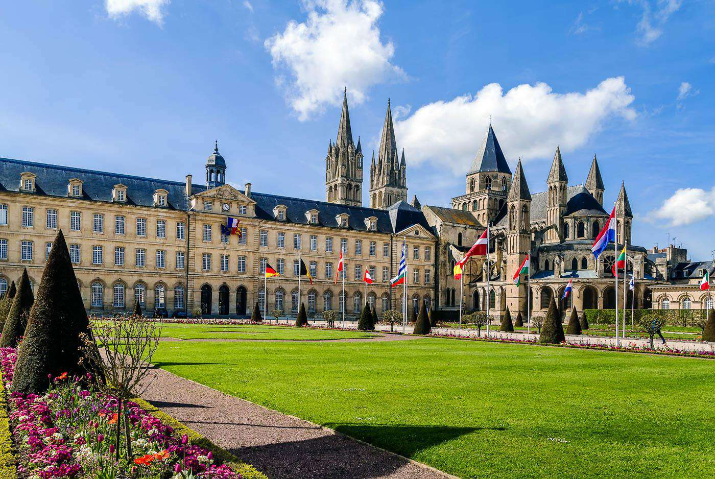 Caen Travel Costs Amp Prices Old Town Chateau Ducal
