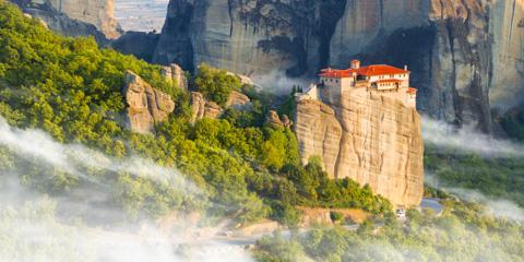 Monastery of the Holy Trinity, Meteora, Greece