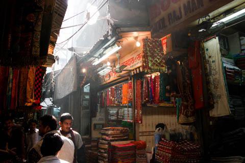 Textile Market, Delhi, India