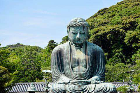 The Buddha at Kamakura, Japan