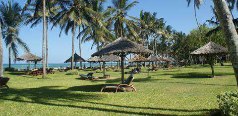 Mombasa beach resort, Kenya