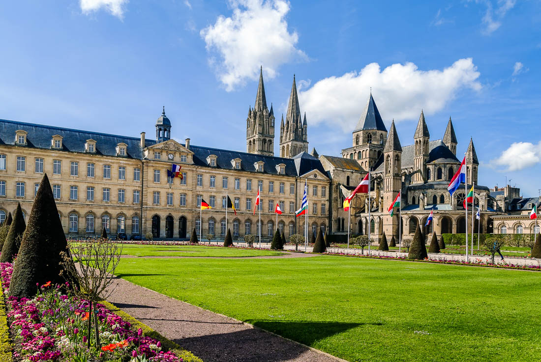 caen travel costs prices old town chateau ducal museums. Black Bedroom Furniture Sets. Home Design Ideas