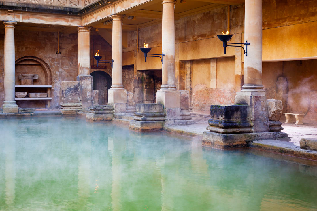 Bath Travel Costs & Prices - Roman Baths, Hot Springs ...