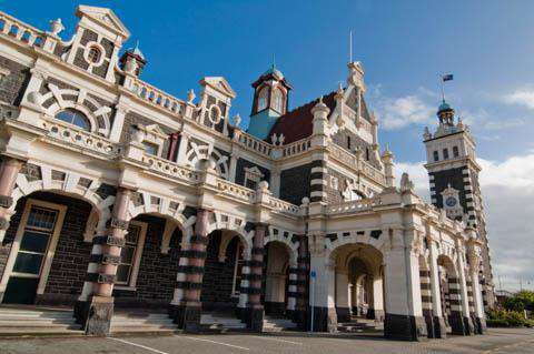 Dunedin Train Station, Dunedin, New Zealand