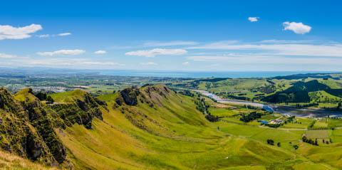 Outside of Napier, New Zealand