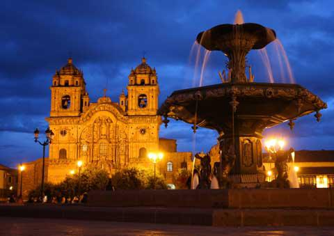 The Cathedral Basilica of the Assumption of the Virgin, Plaza del Armas, Cusco, Peru