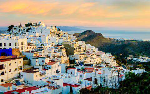 Mojacar Village, Almeria, Spain