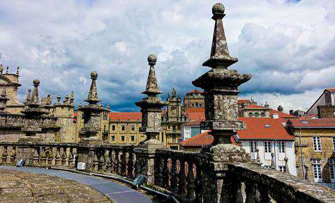 The Cathendral of Santiago de Compostela, Spain