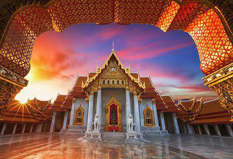 The Marble Palace, Bangkok