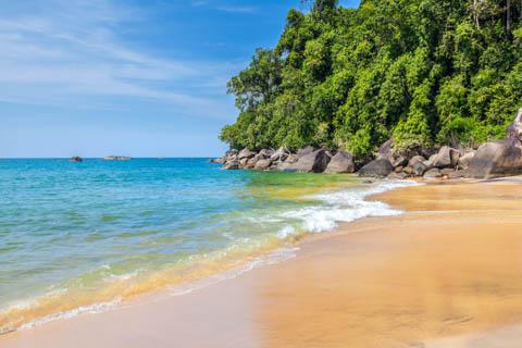 The beach at Khao Lak, Thailand