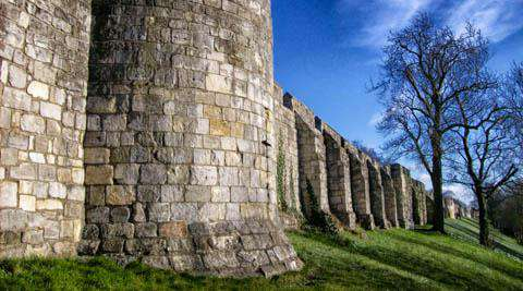 York Castle Walls, England