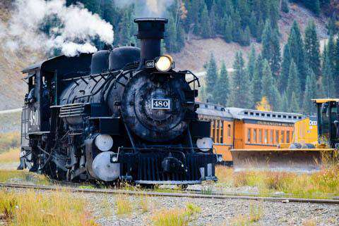 The Durango & Silverton Narrow-Gauge Railroad, Durango, Colorado
