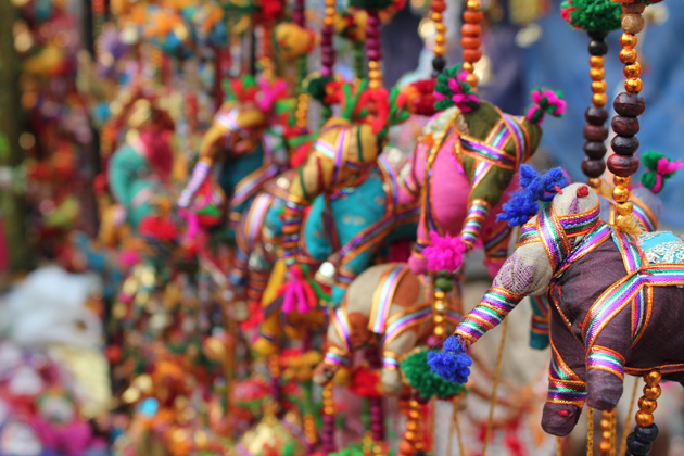 Dilli Haat Market, Delhi, India