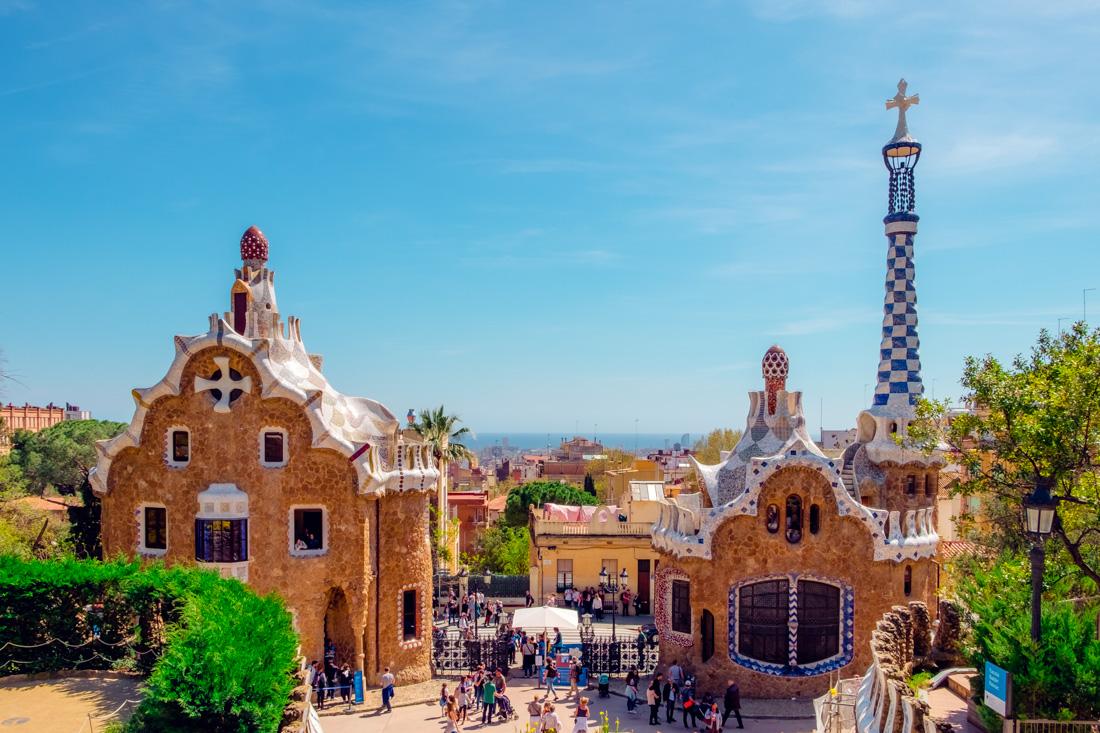 Park Guell, Barcelona, Spain