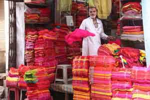 Cloth Stall