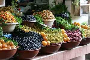 Olives in Marrakech Market