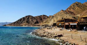 Hostels Near the Beach in Dahab, Egypt