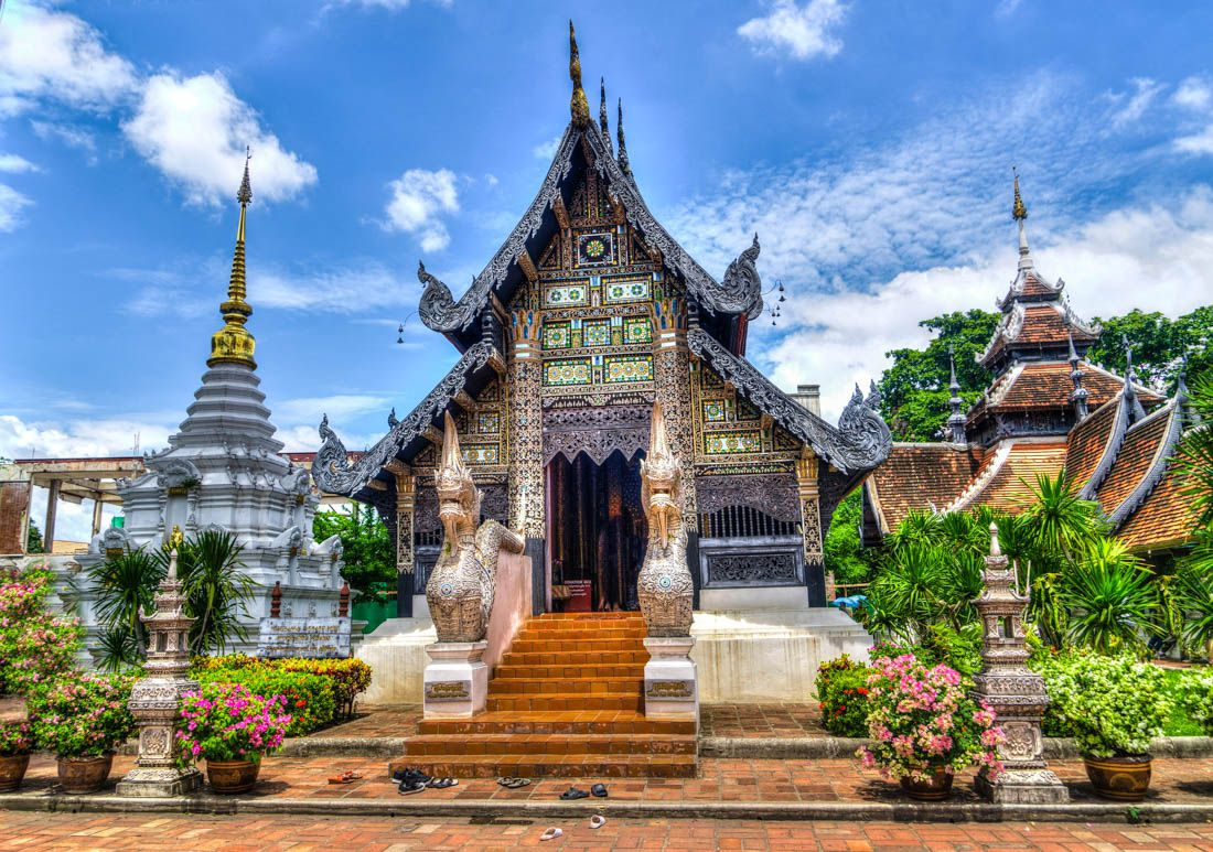 thailand chiangmaitemple The Basic Costs Of A Digital Nomad In Thailand
