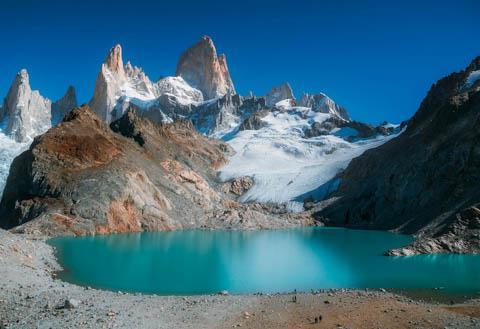 Mt. Fitz Roy, Los Glaciares National Park, Argentina (Near El Chalten)