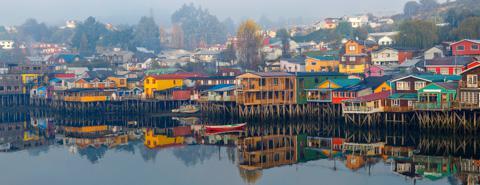 Castro, Isla Chiloe, Chile