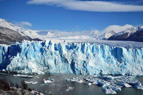 Glacier in Patagonia, Chile