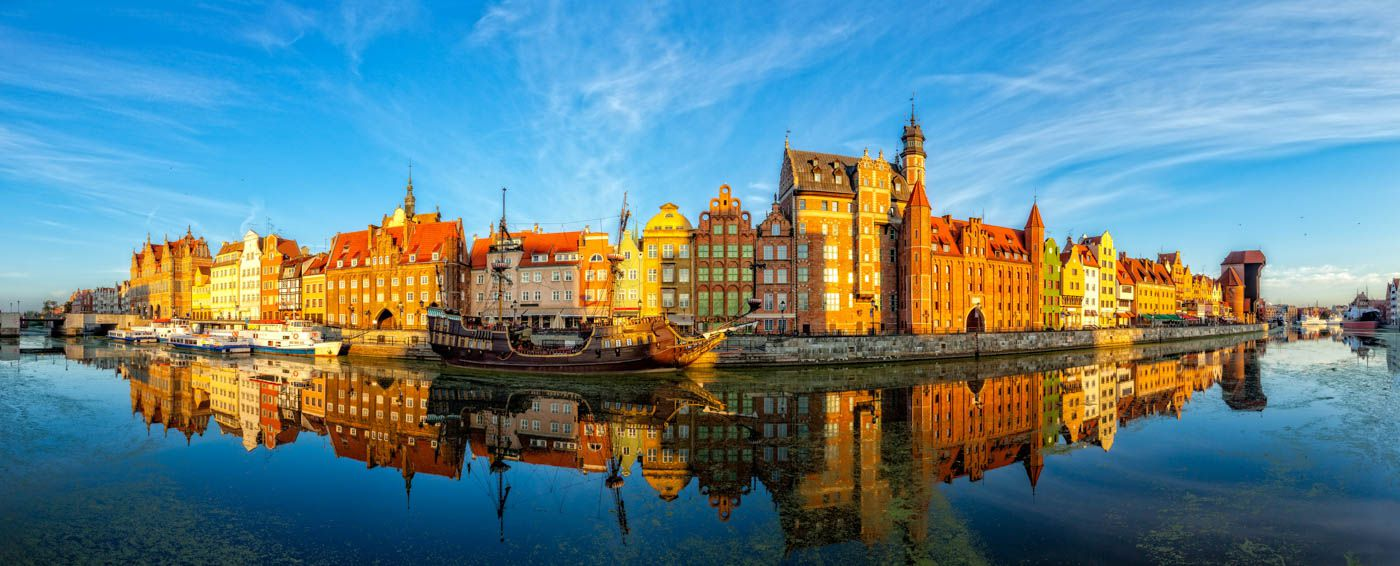 Gdańsk, Gdansk, Poland, Beautiful View