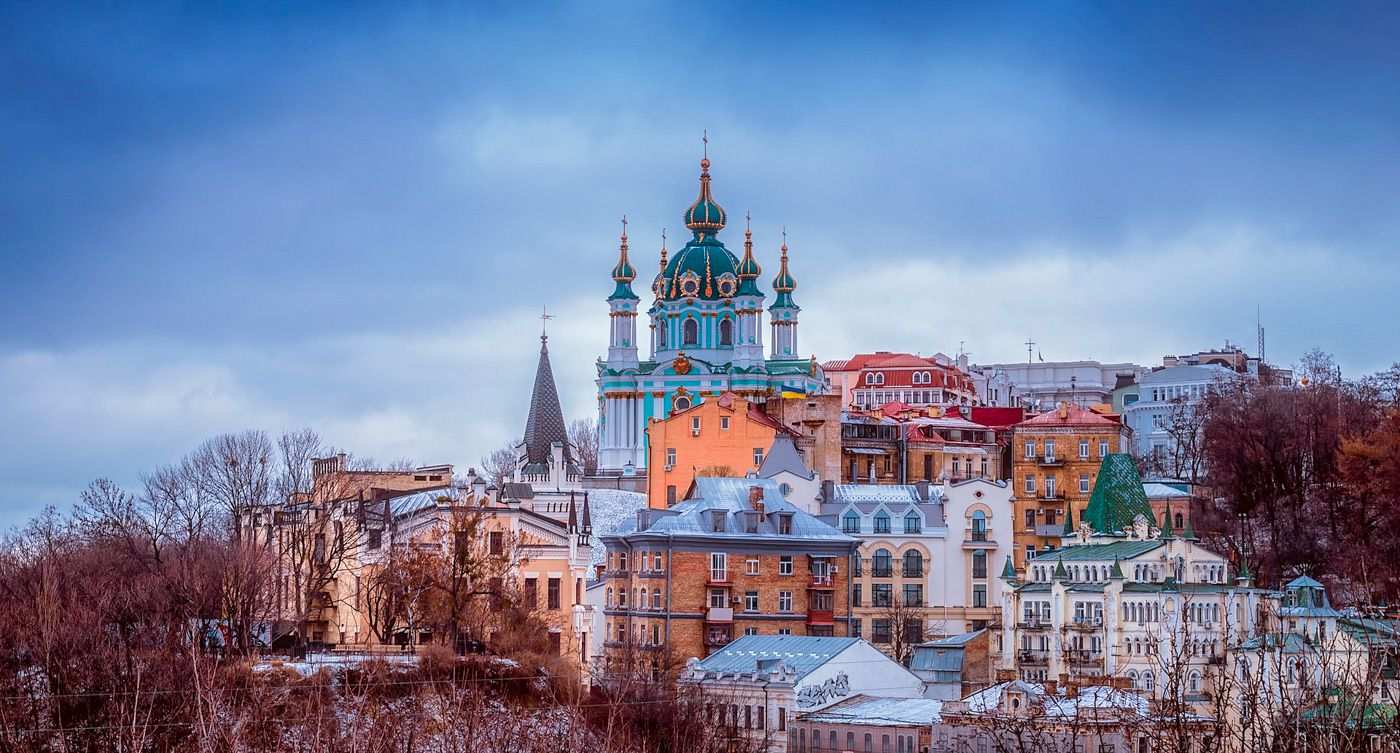 Kiev Travel Costs & Prices - Khreschatyk Street, Kiev Pechersk Lavra