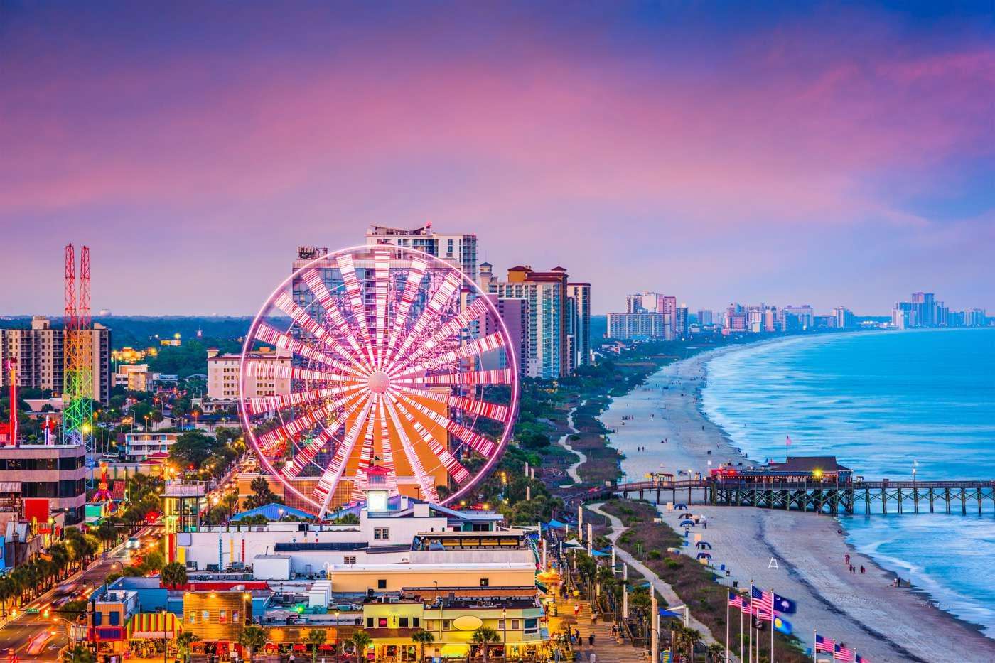 Myrtle Beach Travel Cost Average