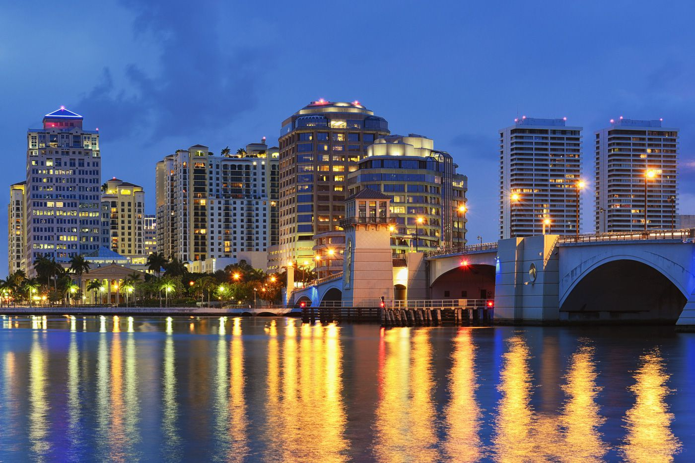 west palm beach travel cost