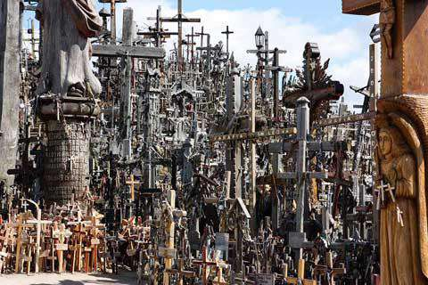 The Hill of Crosses, Siauliai