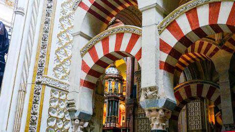 The Mosque-Church of Cordoba, Spain