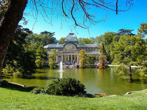 Madrid, El Retiro Park